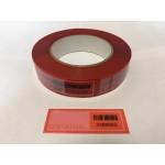Пломбировочная лента 27х75 Красная